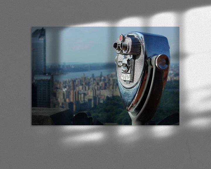 Sfeerimpressie: new york city ... distant view I van Meleah Fotografie