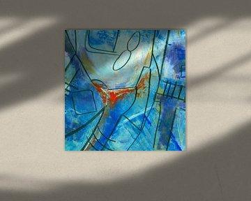 Abstract blue von Katarina Niksic