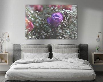Violet Rose in Love von Markus Wegner