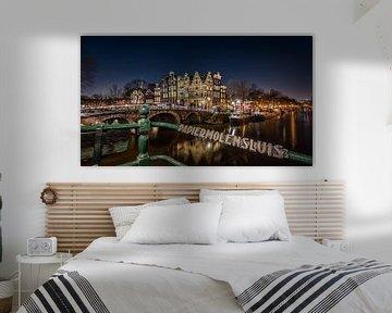 Amsterdam - Prinsengracht von Martijn Kort