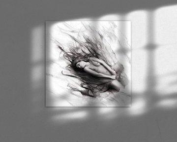 Passion 02 monochrom von Silvio Schoisswohl