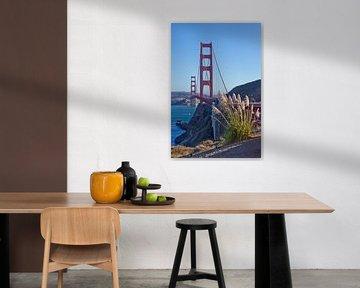 Golden Gate Bridge von Melanie Viola