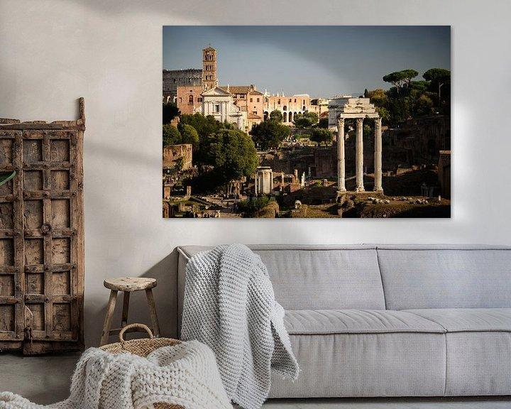 Impression: Forum Romanum and Colosseum sur Sjoerd Mouissie