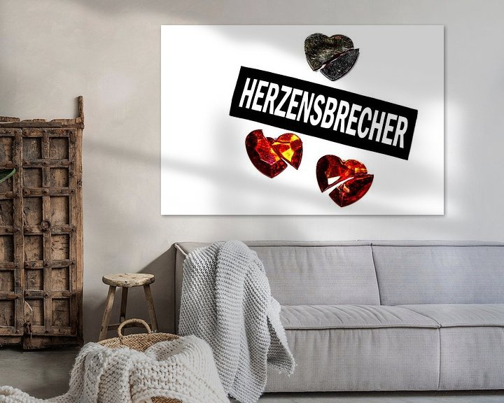 Sfeerimpressie: Hij is een hartenbreker. van Norbert Sülzner