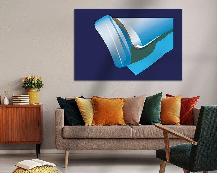 Sfeerimpressie: Blauw1 van Robert Smink