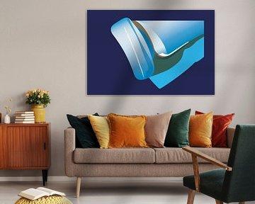 Blauw1 van Robert Smink
