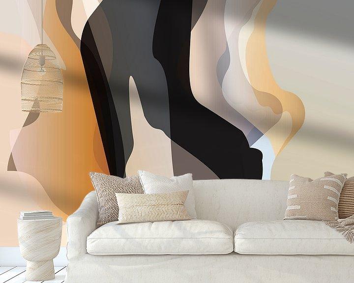 Sfeerimpressie behang: Dans van Robert Smink