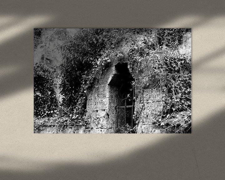 Beispiel: Uitzichtloos raam. von Joyce Pals