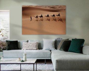 Karavaan woestijn von Marry Fermont