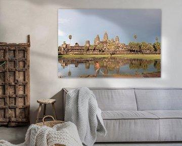 Ankor Wat - Cambodja van Marry Fermont