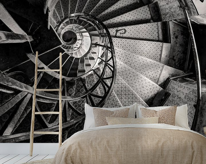 Beispiel fototapete: Lost Place - Spirale abwärts von Carina Buchspies