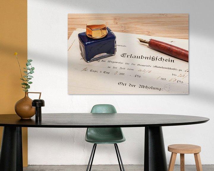 Sfeerimpressie: permit van Gunter Kirsch