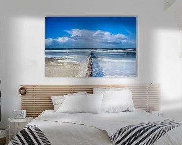 Strand von Ameland von Ton Drijfhamer
