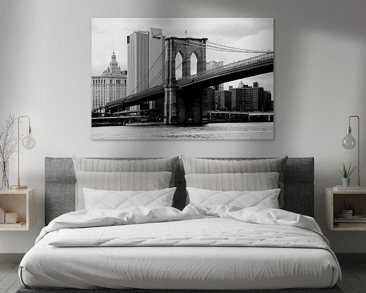Sfeerimpressie: new york city ... brooklyn bridge I van Meleah Fotografie