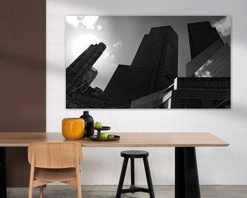 Zwart Wit Wallstreet van Josina Leenaerts