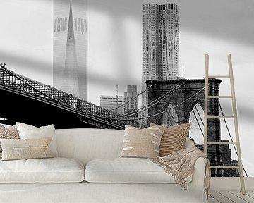 new york city ... brooklyn bridge II van Meleah Fotografie