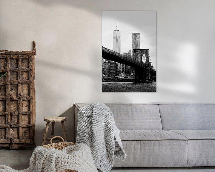 Beispiel: new york city ... brooklyn bridge II von Meleah Fotografie