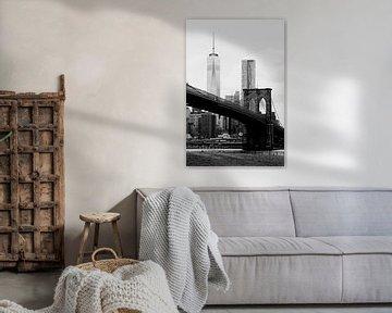 new york city ... brooklyn bridge II sur Meleah Fotografie