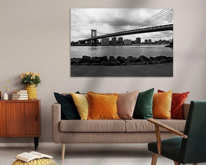 Sfeerimpressie: new york city ... manhattan bridge I van Meleah Fotografie