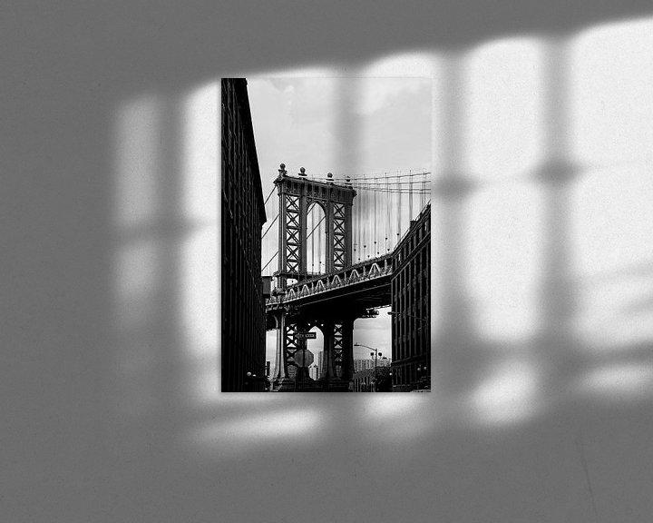Impression: new york city... pont de manhattan III sur Meleah Fotografie