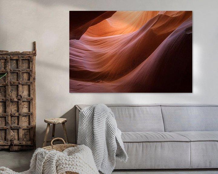 Impression: Lower Antelope Canyon in Arizona sur Marcel Tuit
