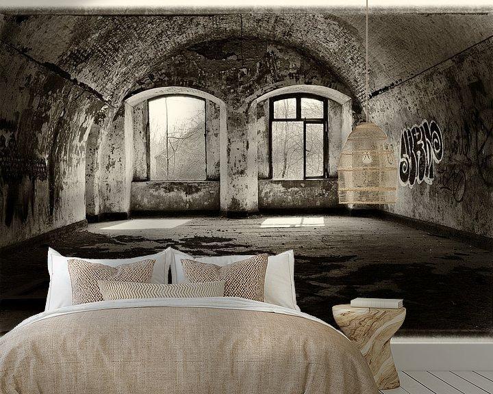 Sfeerimpressie behang: Second floor basement van Jaco Verheul