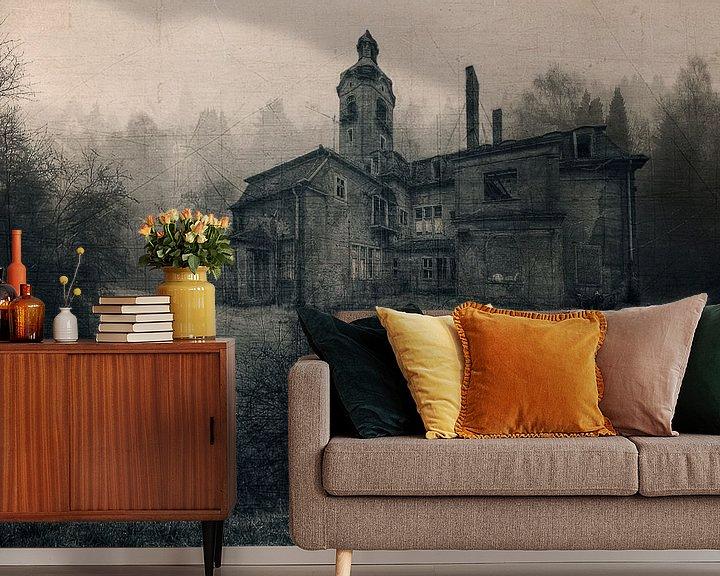 Sfeerimpressie behang: Lost Place - old villa van Carina Buchspies