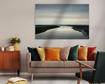 Het strand van Schiermonnikoog van Bo Scheeringa Photography