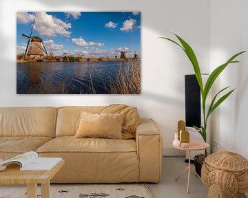 Dutch Kinderdijk World Heritage