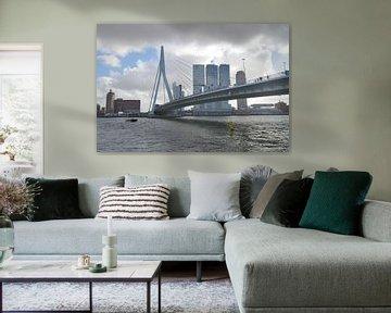 Erasmusbrug, Rotterdam van Peter Apers