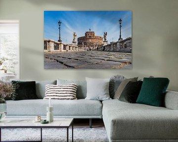Castel Sant Angelo, Rome, Italy van Gunter Kirsch