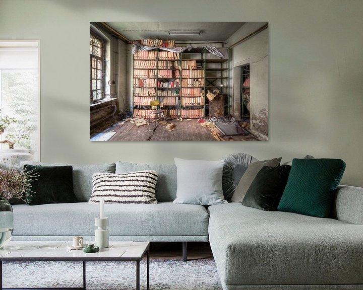 Sfeerimpressie: Gegevens Opslag Kamer van Roman Robroek
