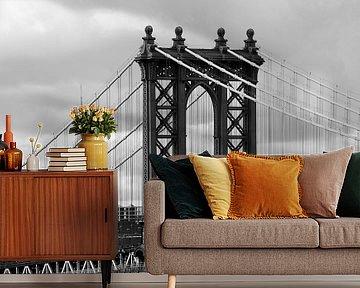 new york city ... manhattan bridge trilogy I van Meleah Fotografie