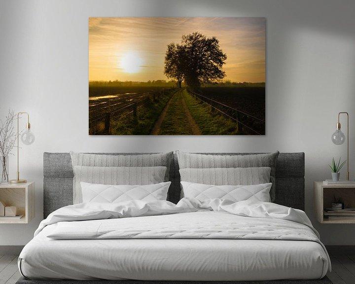 Sfeerimpressie: Sunset Path van William Mevissen