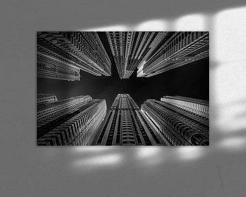 Builded sky van Peter Bijsterveld