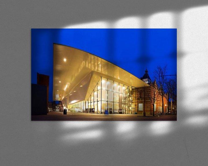Sfeerimpressie: Stedelijk museum hoek van Dennis van de Water