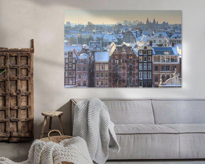 Sfeerimpressie: Amsterdam uitzicht kalvertoren van Dennis van de Water