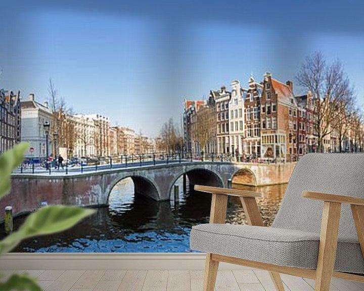 Impression: Amsterdam gracht panorama sur Dennis van de Water