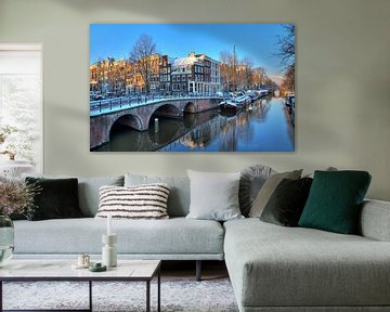 Brouwersgracht winter ochtend von Dennis van de Water