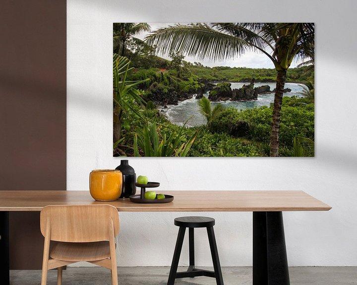 Impression: Tropical bay on Maui sur Louise Poortvliet