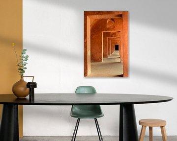 Doorkijk Taj Mahal van Richard Guijt Photography