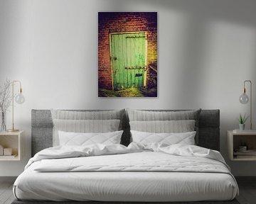 Schuur deur van Tonny Visser-Vink