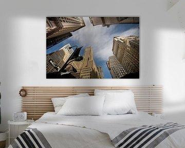 Wallstreet New York von Lex Scholten