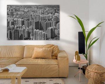 Shanghai skyline madness von Michèle Huge