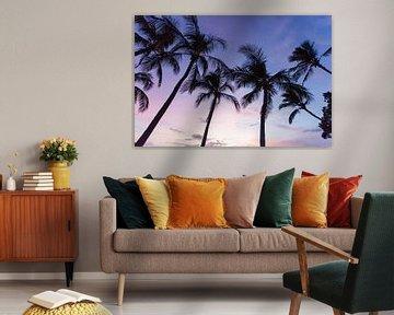 Palmen Hawaii von Milene Bezemer