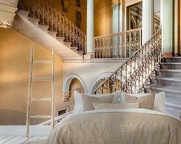 Schöne verlassene Treppe. von Roman Robroek