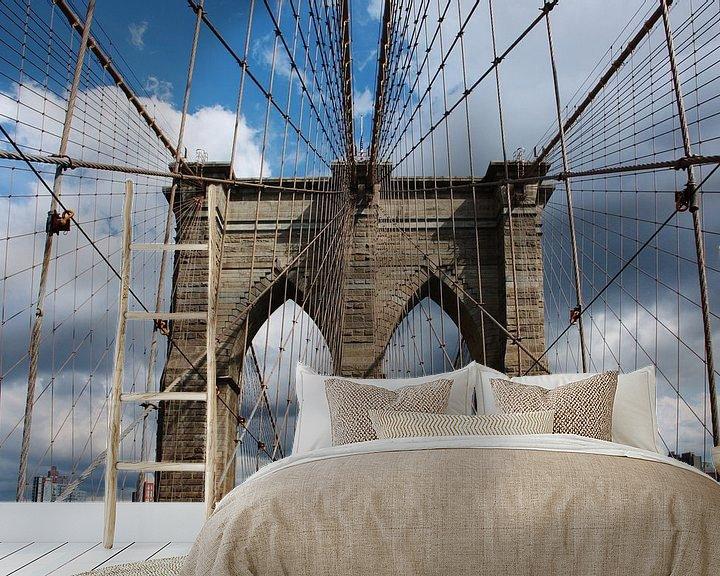 Impression: new york city ... brooklyn bridge III sur Meleah Fotografie