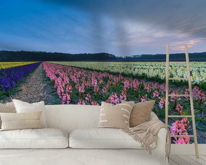 Impression: Kleurrijk bloemenveld in de bollenstreek sur Marcel Tuit