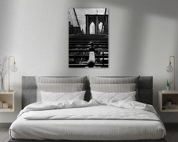 new york city ... brooklyn bridge IV sur Meleah Fotografie