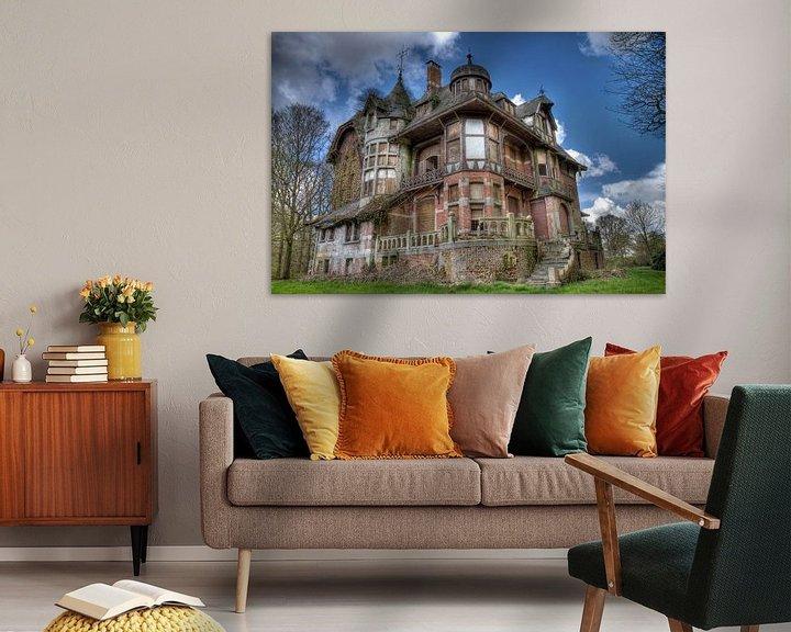 Sfeerimpressie: Urbex Chateau Notenboom van Jack Tet